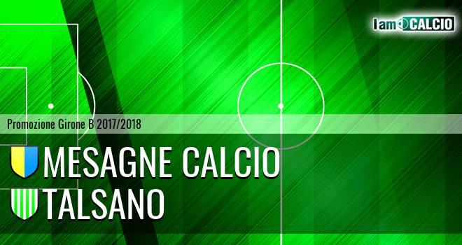 Mesagne Calcio - Talsano