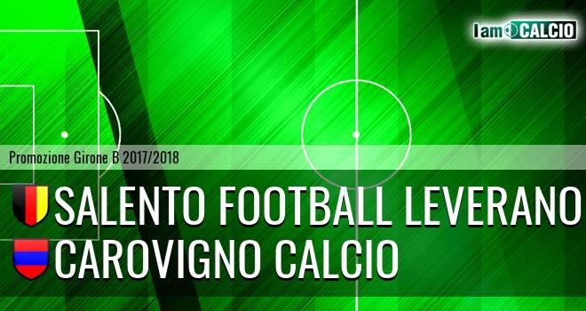 Salento Football Leverano - Carovigno Calcio