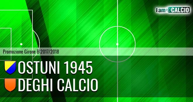 Ostuni 1945 - Deghi Calcio