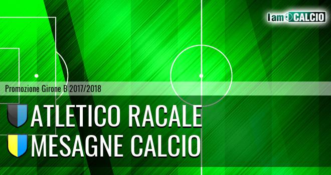 Atletico Racale - Mesagne Calcio