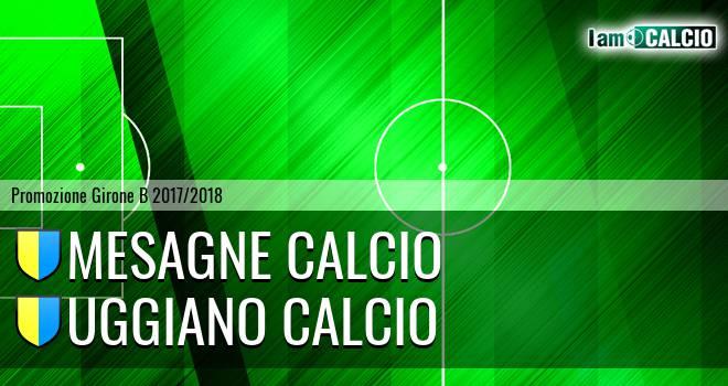 Mesagne Calcio - Uggiano Calcio