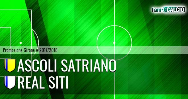 Ascoli Satriano - Real Siti