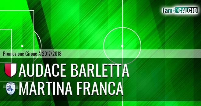 Audace Barletta - Martina Calcio 1947
