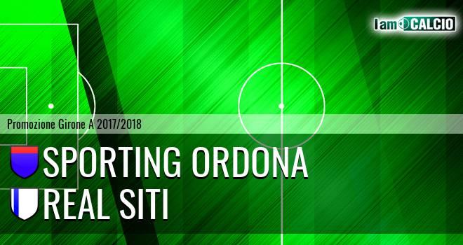 Sporting Ordona - Real Siti
