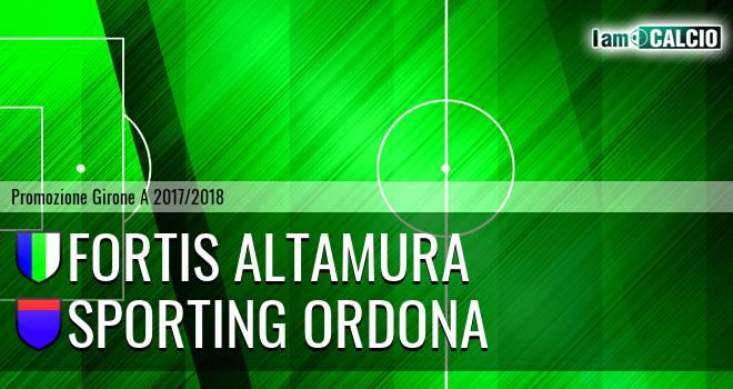 Fortis Altamura - Sporting Ordona