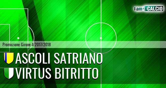 Ascoli Satriano - Virtus Bitritto