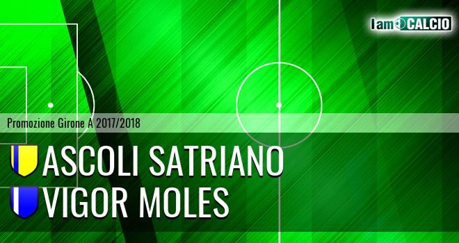 Ascoli Satriano - Vigor Moles