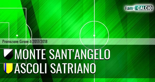 Monte Sant'Angelo - Ascoli Satriano 3-0. Cronaca Diretta 18/02/2018