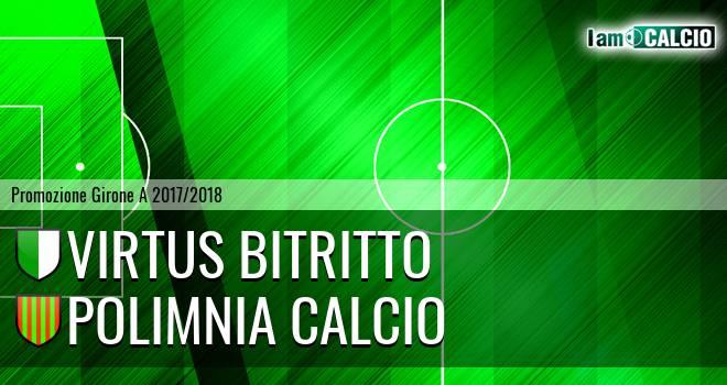 Virtus Bitritto - Polimnia Calcio