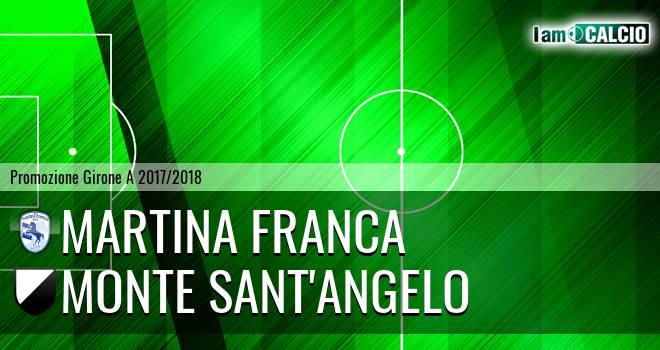 Martina Calcio 1947 - Monte Sant'Angelo