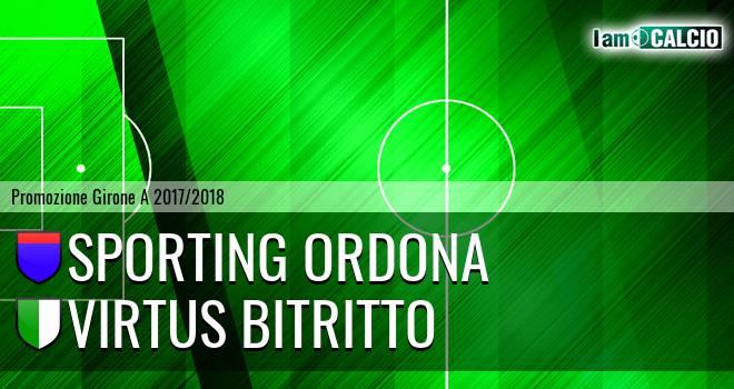 Sporting Ordona - Virtus Bitritto