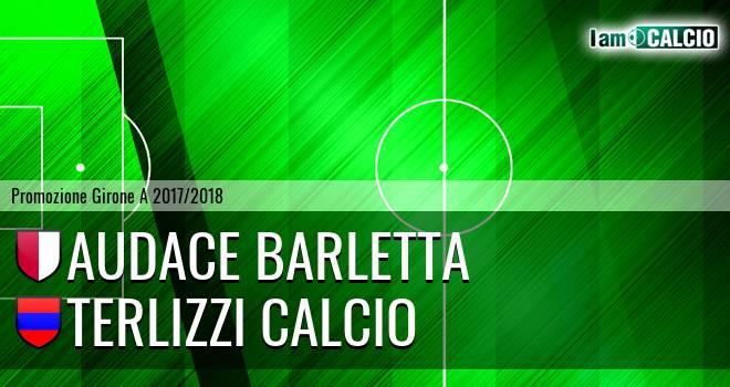 Audace Barletta - Terlizzi Calcio 0-2. Cronaca Diretta 22/04/2018