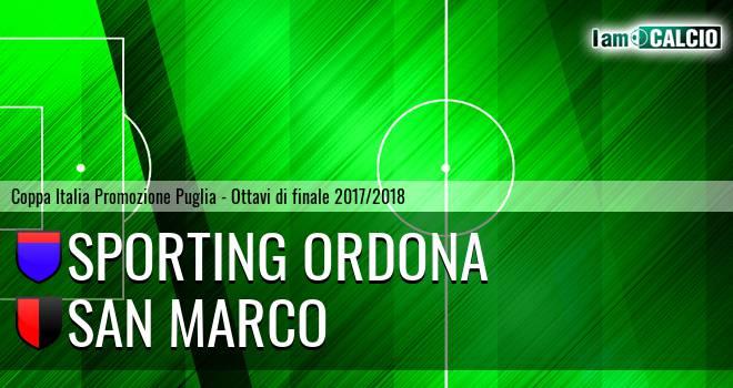 Sporting Ordona - San Marco