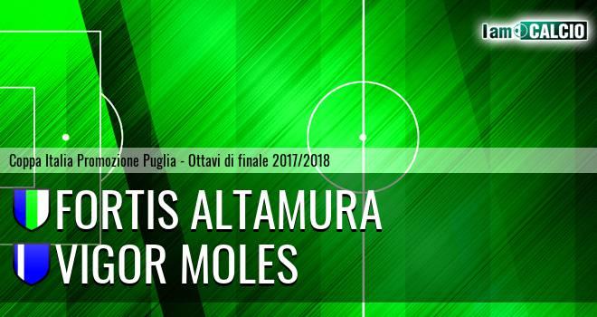 Fortis Altamura - Vigor Moles