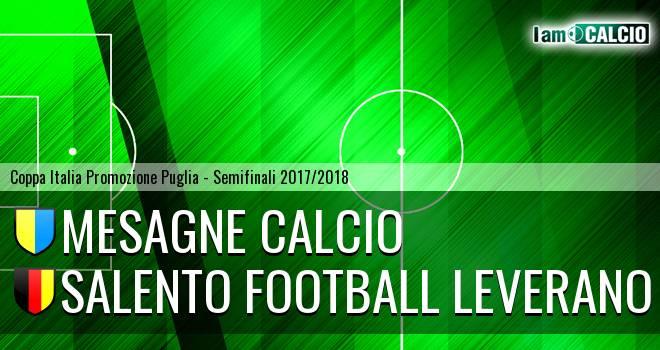 Mesagne Calcio - Salento Football Leverano