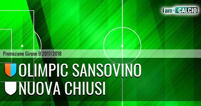 Olimpic Sansovino - Nuova Chiusi