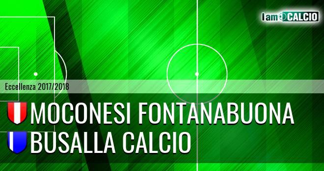 Moconesi Fontanabuona - Busalla Calcio