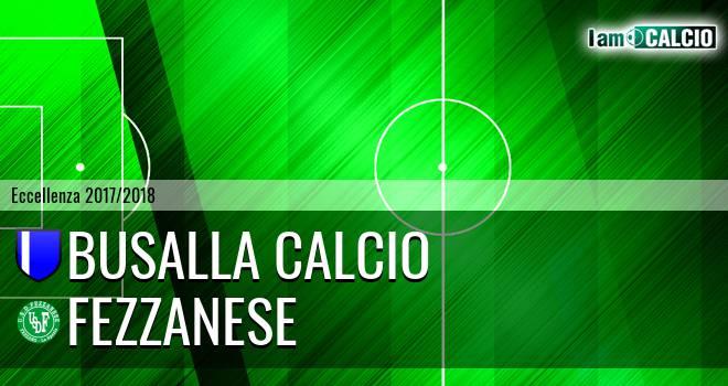 Busalla Calcio - Fezzanese