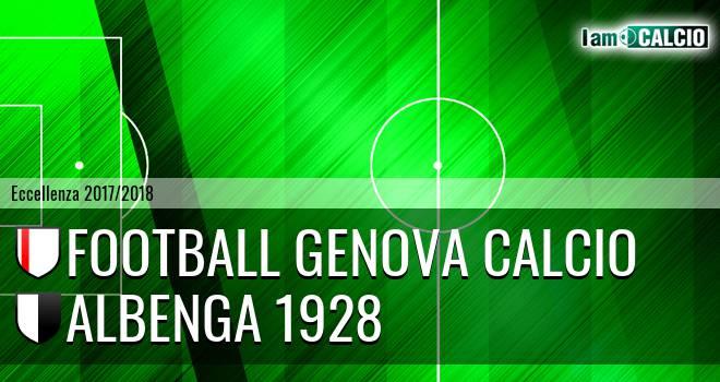 Genova - Albenga 1928