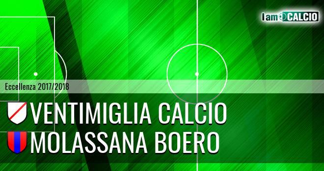 Ventimiglia Calcio - Molassana Boero