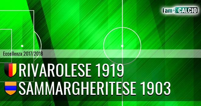 Rivarolese 1919 - Sammargheritese 1903