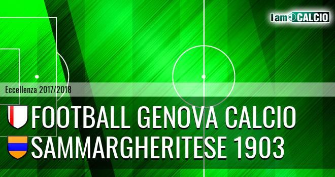 Genova - Sammargheritese 1903