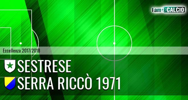 Sestrese - Serra Riccò 1971