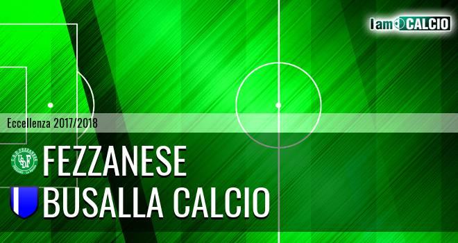 Fezzanese - Busalla Calcio