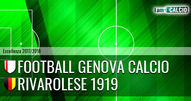 Football Genova Calcio - Rivarolese 1919