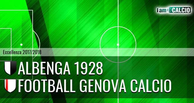 Albenga 1928 - Genova