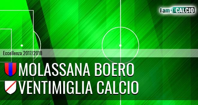 Molassana Boero - Ventimiglia Calcio