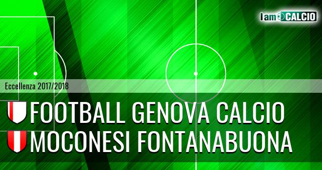 Genova - Moconesi Fontanabuona