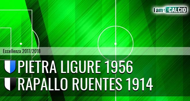 Pietra Ligure 1956 - Rapallo Ruentes 1914