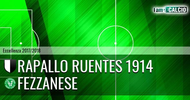 Rapallo Ruentes 1914 - Fezzanese
