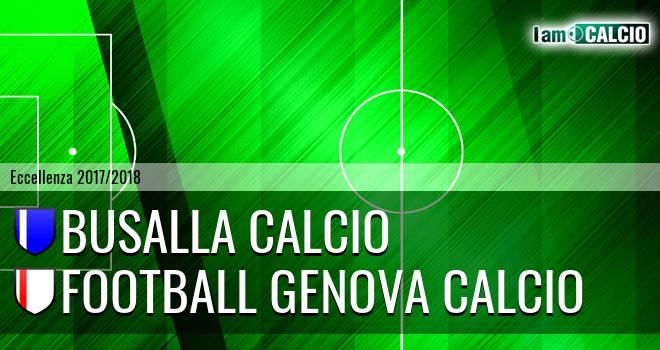 Busalla Calcio - Genova