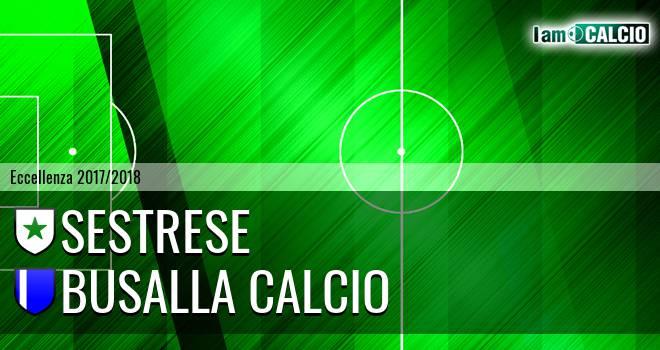 Sestrese - Busalla Calcio