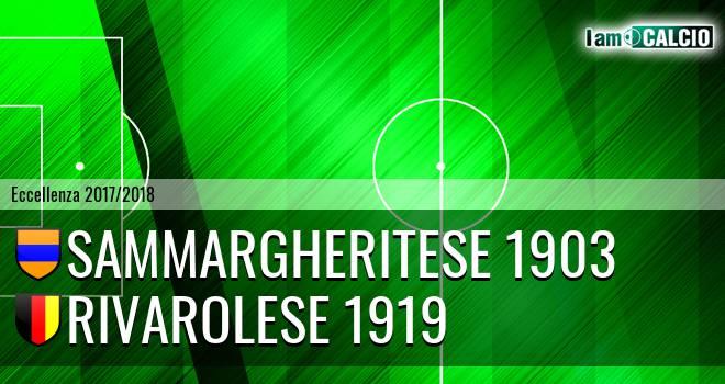 Sammargheritese 1903 - Rivarolese 1919