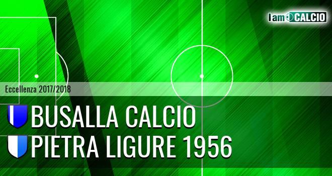 Busalla Calcio - Pietra Ligure 1956