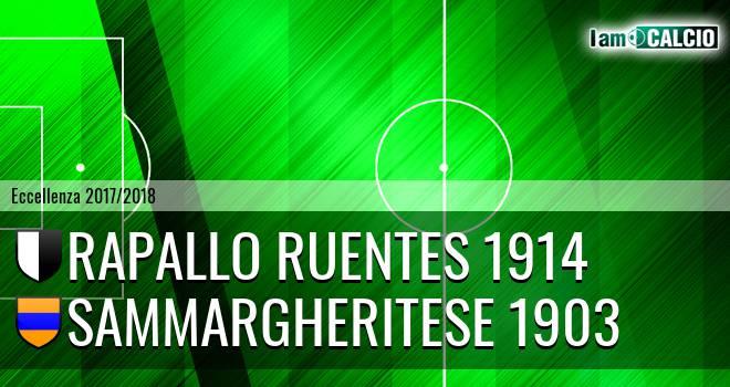Rapallo Ruentes 1914 - Sammargheritese 1903