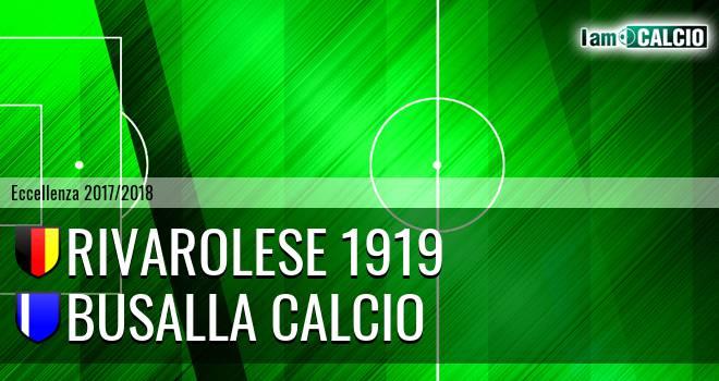 Rivarolese 1919 - Busalla Calcio