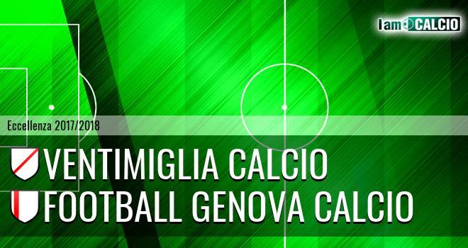 Ventimiglia Calcio - Genova