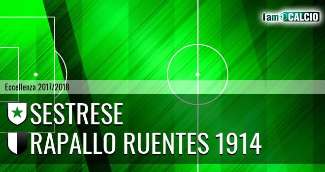 Sestrese - Rapallo Ruentes 1914