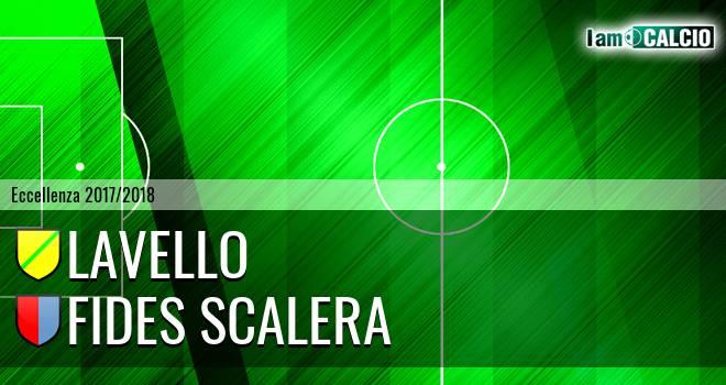 Lavello - Fides Scalera