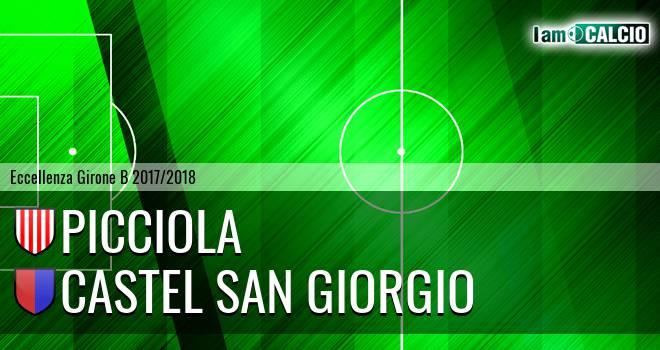 FC Sarnese - Castel San Giorgio