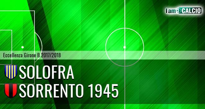Solofra - Sorrento 1945