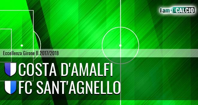 Costa d'Amalfi - FC Sant'Agnello