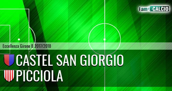 Castel San Giorgio - FC Sarnese