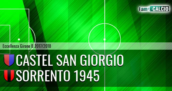 Castel San Giorgio - Sorrento 1945