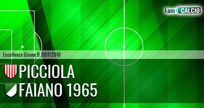 FC Sarnese - Faiano 1965