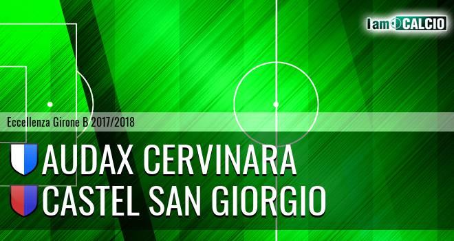 Audax Cervinara - Castel San Giorgio